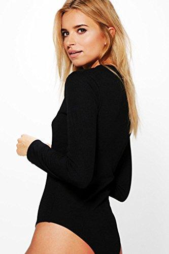 Noir Femmes Alyssa Body Crochets Et Attaches Noir