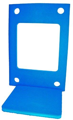 Schwimminsel mit Öffnung und 4 Löchern Größe 950 x 700 x 38 mm Blau Badespielzeug Schwimmlernhilfe NEU&Originalverpackt