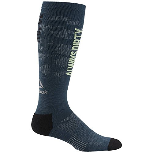Reebok OTR KNEE SOCK - Calcetines, Hombre, Multicolor - (PAYGRE)