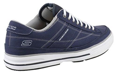 Skechers Arcade Chat 51033 Gry, Sneaker Uomo Marine / Blanc