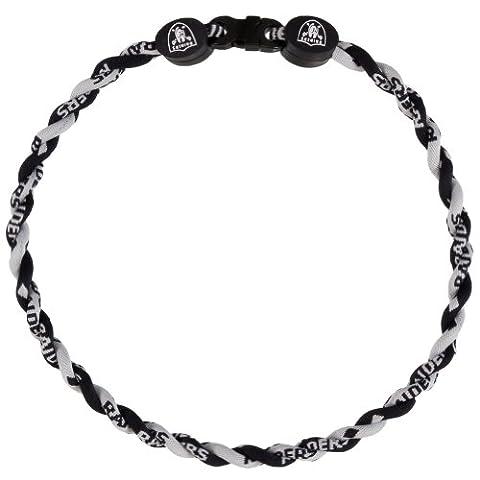 Oakland Raiders -LogoTitanium Twist Necklace