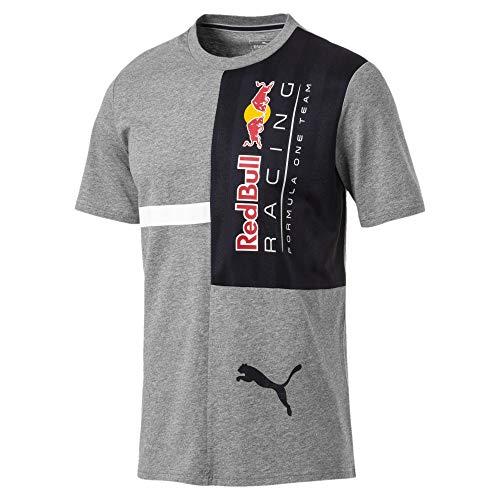 Preisvergleich Produktbild Puma Red Bull Racing Herren T-Shirt Medium Gray Heather L
