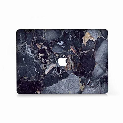 AQYLQ MacBook Schutzhülle/Hard Case Cover Laptop Hülle [Für MacBook Air 13 Zoll: A1369/A1466], Ultradünne Matt Plastik Hartschale Schutzhülle, DL30 Marine Marmor