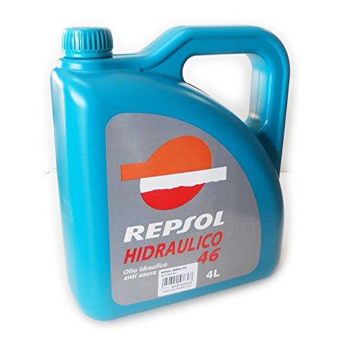 Repsol HIDRAULICO 46 4lt olio idraulico anti usura per macchine indust