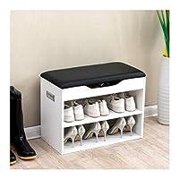 Cherry Tree Furniture 2-Level Shoe Rack Bench Storage 60 x 30 x 45 cm