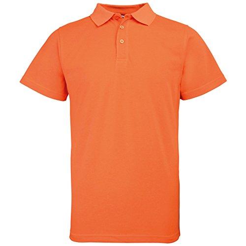 Preisvergleich Produktbild Rty Damen Herren Unisex Poloshirts Arbeitshemd Gr. XXXX-Large,  Orange - Enhanced Orange