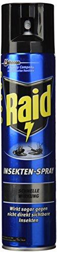 Raid Paral Insektenspray, 4er Pack (4 x 400 ml) (Bestellen Kuchen)