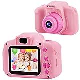 Prograce Kids Camera Children Digital Cameras for Girls Birthday Toy Gifts 4-12 Year