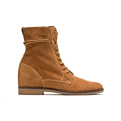 Hush Puppies Womens BAB Felise Camel Suede Boot