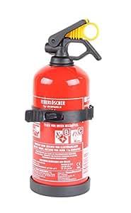 BC-Pulver-Autofeuerlöscher 1kg (Aufladelöscher GP-1Z BC Halterung Sicherungskeil Instandhaltungsnachweis)