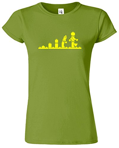 LEGO Evolution Dames T-shirt Soldat Conception Guerres Retro Kiwi