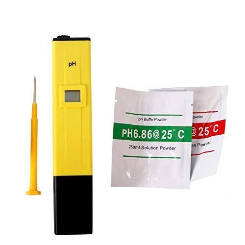 Medidor de PH Digital + Kit de Calibracion + Pilas Incluidas