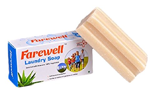 Farewell Laundry Washing Soap (Combo Of 3, Detergent Bars)