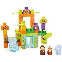 Mega Bloks Storytelling Safari Friends Zoo Building Set