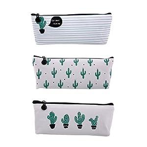 NUOLUX 3pcs Cactus Impreso Lápiz