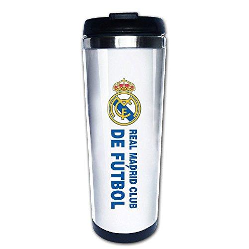 QIDAMIAO Real Madrid CF Vacuum Cup Coffee/Travel Mug(Teetassen/Kaffeetassen)s