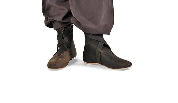 Stivali medievali da uomo a mezza lunghezza Indumento LARP