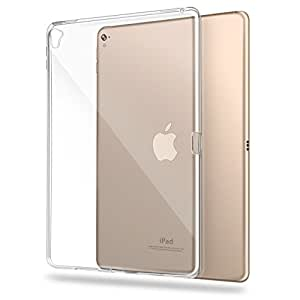 iPad Pro 9.7 inch Case ,Transparent Slim Silicon Soft TPU Tablet Computer Case [Shock Absorption] For Apple iPad Pro 9.7 inch (2016) (clear)