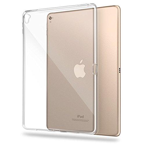 asgens iPad Pro 24,6cm (2016), Transparent Slim Silikon Weich Tasche TPU Tablet Computer Fall (Klar)