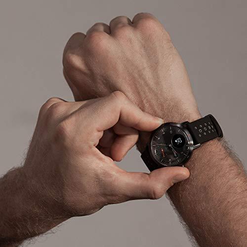 Withings Steel HR Sport - Multi-Sport Hybrid Smartwatch - Herzfrequenz- und Fitnesstracker, schwarz, 40mm - 7