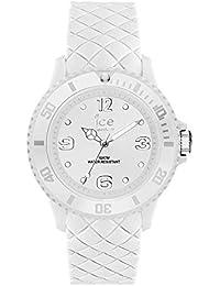 Ice-Watch - Ice Sixty Nine White - Montre Blanche pour Femme avec Bracelet en Silicone - 007269 (Medium)
