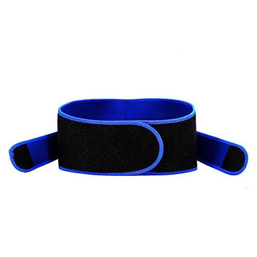 Foto de Faja Lumbar Ajustable - Cinturón de Cintura Respirable Soporte de Cintura Unisexo para Entrenamiento Aliviar el Dolor y Lesión