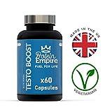 Protein Empire ELITE SERIES Testo Booster 1 Month Supply | Testosterone Supplement