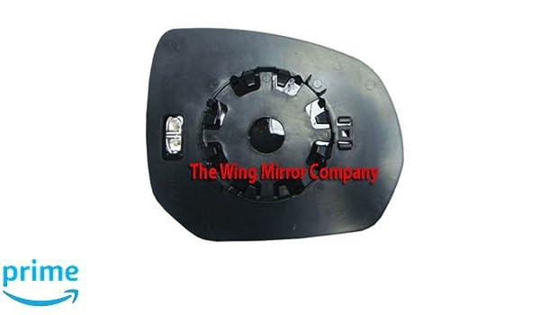 Citroen C4 Picasso 2007,2008,2009,2010,2011,2012,2013 Silver Wing//Door Mirror Glass LH Passenger Side
