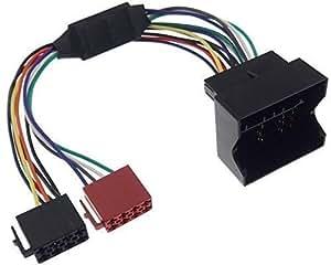Harman kardon autoradio-système actif pour bMW adaptateur autoradio quadlock vers iSO pour haut-parleur