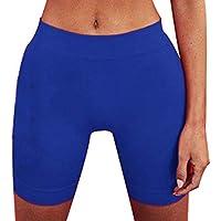 Mujeres Pantalones Cortos de Ciclismo Bailan Hacer Ejercicio Mallas de al Aire Libre Adelgazante Elásticos Hot Pants Negro Blanco Rojo Azul Gris
