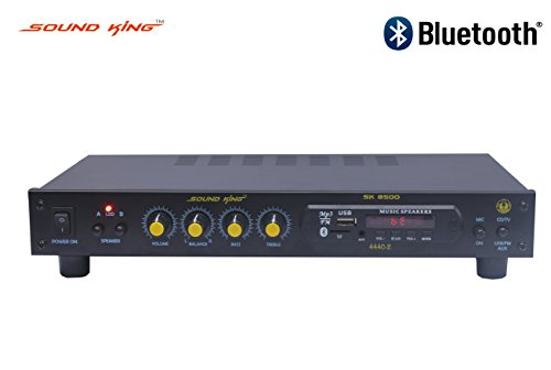 Sound King Sk 8500 Bt Karaoke - 4 Ch Amplifier