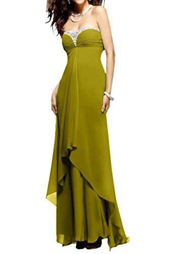 Ivydressing -  Vestito  - linea ad a - Donna Verde oliva