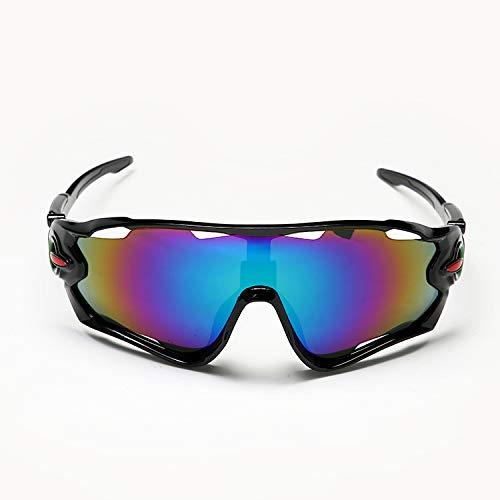 Yiph-Sunglass Sonnenbrillen Mode Sport Mann Frau Fahrrad Reiten im Freien Vr Gläser Sport Sand Control Sonnenbrille (Color : 4)
