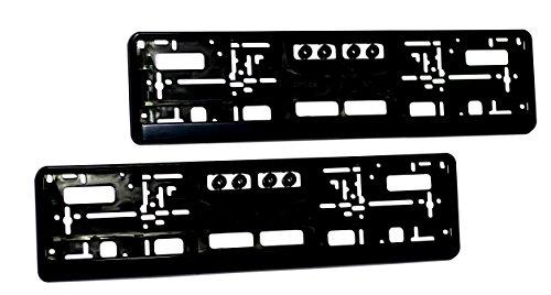 Kennzeichenhalter-I-Nummernschildhalter-fr-PKW-I-Kennzeichenhalterung-I-2-Stck