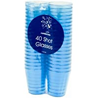160 Coloured Shot Glasses -4 packs of 40