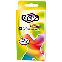 Kondome chaps power, 24 Stück, 0,1 mm Wanddicke, Sicheres Gefühl, Made in Germany preisvergleich bei billige-tabletten.eu