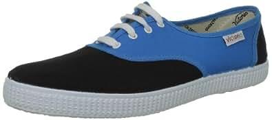 Victoria Inglesa Bicolor, Baskets mode mixte adulte - Bleu (Turquesa Negro), 35 EU