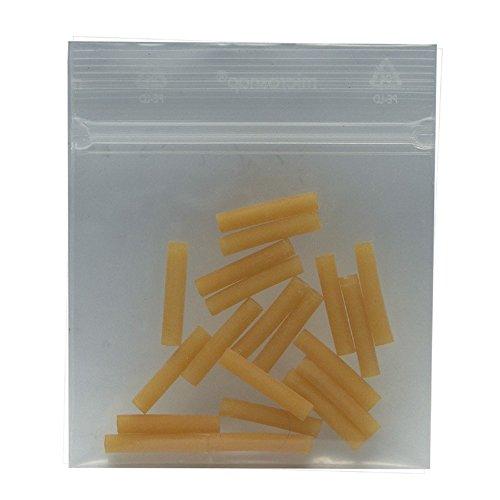 Packung Ventilgummi 20 Stck. in Packung, 3 cm lg., gelb (1 Stück)