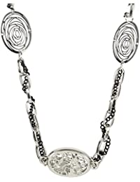 MUCH MORE Charming Silver Tone Long Fashion Necklace For Women's