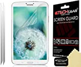 [2 Pack] TECHGEAR® Samsung Galaxy Tab 3 8.0 Inch (SM-T310 / SM-T311 / SM-T315) CLEAR LCD Screen Protectors With Screen Cleaning Cloth & Application Card