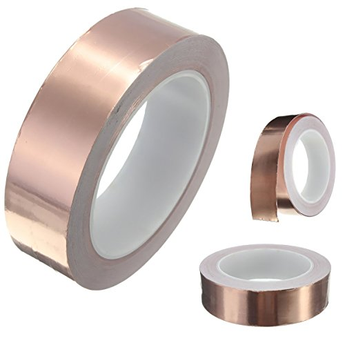 king-do-way-copper-foil-tape-guitar-emi-shielding-adhesive-barrier-20m-x-30mm