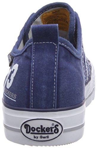 Dockers by Gerli  36AY60, Baskets hautes mixte enfant Bleu - Blau (navy 660)