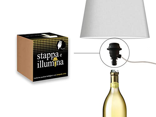 Flaschen-Lampen-Kit Für Wein Champagne Magnum Dom Perignon Ruinart Krug Armand de Brignac Veuve Clicquot Bier -