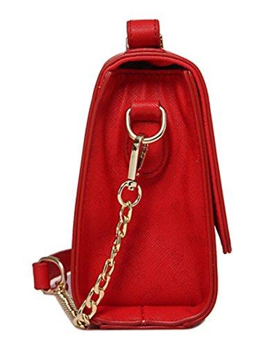 Longzibog Dual verstellbare Schultergurte und Hängeschlaufenband 2016 Neue Simple Style Fashion Tote Top Handle Schulter Umhängetasche Satchel Grau