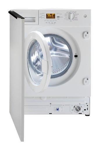 Beko WMI81441 Intégré Charge avant 8kg 1400tr/min A++ Blanc machine à laver - Machines à laver (Intégré, Charge avant, Blanc, Rotatif, Gauche, LCD)