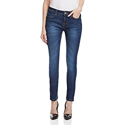 Jealous 21 Women's Slim Jeans (1JY2111126_Blue_32)