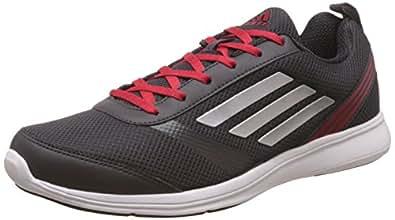 adidas Men's Adiray M Utiblk, Silvmt and Rayred Running Shoes - 7 UK/India (40.7 EU)