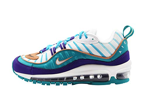 Nike Damen W Air Max 98 Leichtathletikschuhe, Mehrfarbig (Court Purple/Terra Blush/Spirit Teal 000), 39 EU -