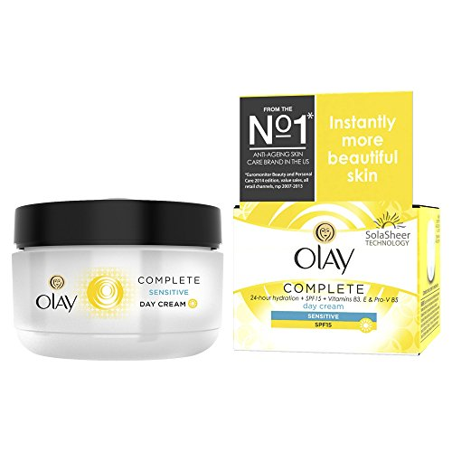 Olay Complete Care Day Cream SPF15 50ml - Sensitive Skin - Day Cream Olay