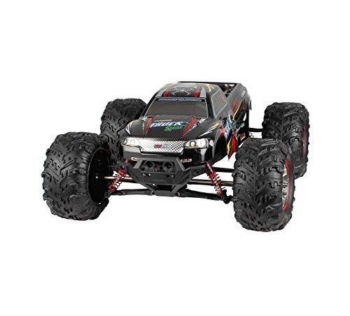 Hosim Ferngesteuertes Auto, RC Offroad LKW 4WD, 1:10 Große Maßstab RTR Buggy Monsterturck, Outdoor Elektro-Spielzeug für Kinder & Erwachsen (Rot) Modellnummer: 9125